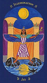 Wise Woman's Tarot - Isis