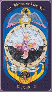 XIX. The Wheel of Life - Image - Kali - Jupiter